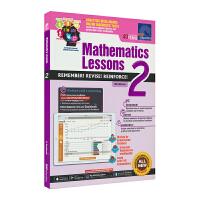 SAP Mathematics Lessons 2新加坡新亚出版社数学课堂练习册二年级套装英文原版进口图书小学教辅8岁