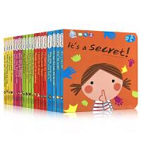 【点读版】Blink Blink English 闪亮英语20册全套 英文原版进口 宝宝幼儿童启蒙益智纸板书 翻翻书