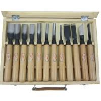 啄木鸟12件套大号雕刻刀套装 手工木刻刀 木雕刀 啄木鸟木刻雕刀 PM210