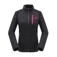 户外运动保暖立领女运动跑步休闲外套开衫抓绒衣 支持礼品卡支付