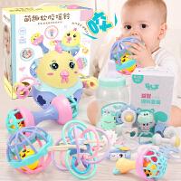 婴儿手抓球玩具3-6-8-12个月益智可咬宝宝手摇铃