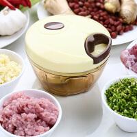 宝优妮 手拉式蒜泥器家用捣蒜器多功能手动绞肉机绞菜机厨房小工具