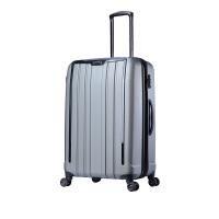 【网易考拉】【子母箱20+28寸】Samsonite新秀丽ExoFrame系列 时尚字母旅行箱 银色