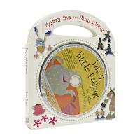 【不退不换】Carry Me and Sing Along 我是一个小茶壶等10首童谣 附CD 英语儿歌 英文原版进口