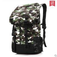 时尚男旅行多功能潮流帆布韩版男士休闲学生书包大背包背包双肩包  可礼品卡支付
