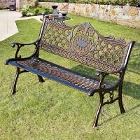 户外公园椅户外休闲长椅室外椅户外排椅铸铝公园椅