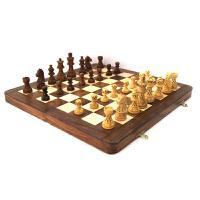 国际象棋套装折叠木质象棋盘实木棋子G139西洋棋部分地区