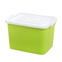 收纳箱有盖塑料加厚大号大容量整理箱家用储藏衣物学生宿舍被子
