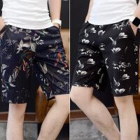 男士短裤夏季运动休闲五分裤夏天韩版潮流5分中裤宽松个性沙滩裤