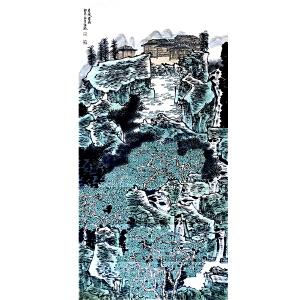 满维起(苗家仙居)中国美术家协会会员、中国画百杰