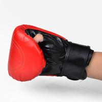 户外运动拳击手套成人散打跆拳道沙袋泰拳武术训练手套搏击格斗手套