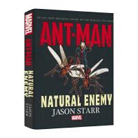 漫威英文原版进口长篇小说 蚁人原创英语故事小说 Marvel Ant-Man Natural Enemy 英雄故事英文