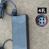小米九号双轮平衡车3孔4孔通用原装63V充电器配件电源线54.8V 平衡车充电器 【63V】 4孔