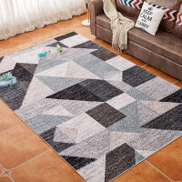 北欧式简约现代客厅地毯地垫沙发茶几垫卧室床边毯抽象可机洗定制