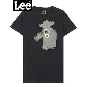 Lee 【断码】男士短袖T恤 清爽透气舒适棉质T恤8758-5Y8A