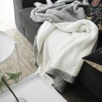家纺绒毯单人双层毛毯加厚羊羔绒毯子冬季厚毯子纯色北欧针织沙发毯