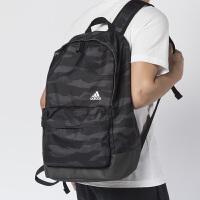 阿迪达斯男包女包2019夏新款迷彩运动包书包旅行双肩包背包DW4272