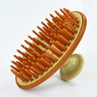 洗发按摩梳子清洁头皮洗头刷头部按摩洗发刷 颜色随机