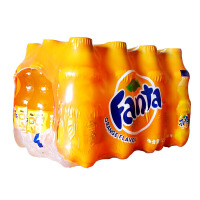 新日期 可口可乐 芬达 橙味碳酸饮料 300ml*12瓶 汽水 出游方便装 迷你小瓶