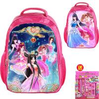【优选】叶罗丽精灵梦6季书包小学生1-4年级公主书包护脊3-10岁幼儿园背包
