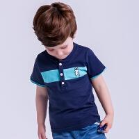男童T恤短袖POLO衫半袖上衣夏装半袖儿童3岁男宝宝体恤