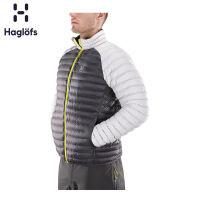 Haglofs火柴棍男款户外运动防风透气修身轻量保暖夹克603156