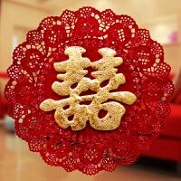 婚庆用品创意喜字贴大门窗花喜字结婚门贴婚礼婚房布置装饰双喜字