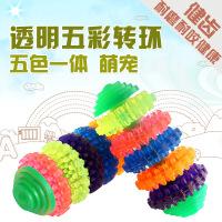 【支持礼品卡】宠物用品 宠物杠铃玩具 橡胶宠物玩具 狗狗磨牙玩具6fl