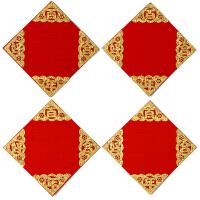早生贵子模板结婚新房婚房布置装饰创意卧室压床摆件模具植绒