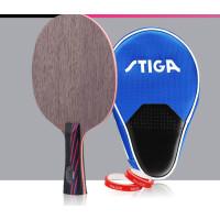 红黑碳王7.6底板CR WRB斯蒂卡乒乓球拍横拍 7.6CR 直板CS