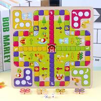 跳棋 飞行棋游戏棋儿童棋类益智玩具3-4-6周岁男孩女孩五子棋军旗