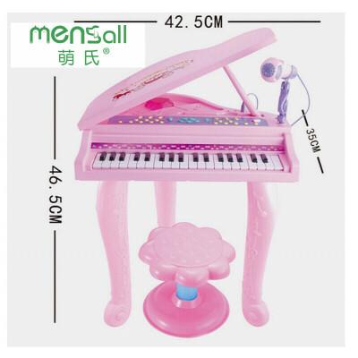 儿童玩具 电子琴小钢琴玩具音乐教学启蒙男孩女孩儿童早教益智礼盒装生日礼物