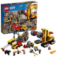 【当当自营】LEGO乐高采矿专家基地 60188