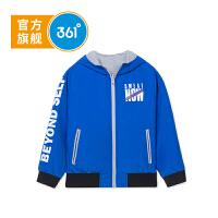【线下同款】361度童装男童两面穿外套中大童秋季新品K51833672