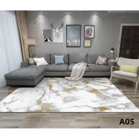 北欧简约几何地毯客厅茶几毯卧室满铺榻榻米简欧家用地垫可机洗 深灰色 A05 2x3米 送地垫
