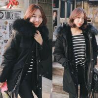 新款冬装 韩版加棉加厚军工装棉衣棉袄外套女上衣