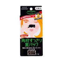 【网易考拉】KOSE COSMEPORT softymo 去黑头黑色鼻贴 10枚装 打败草莓鼻