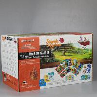 正版 格林快乐英语适用于3-12岁儿童12VCD+图书+盒带+CD+玩具赠CD