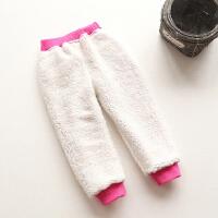 儿童保暖裤男童休闲长裤女宝宝加绒运动裤