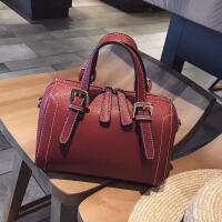 包包女手提包2018新款韩版潮迷你斜挎小包波士顿包时尚单肩包女包