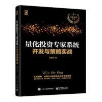 量化投资专家系统开发与策略实战 构建企业级量化投资专家系统 大型金融软件系统交易系统开发设计 金融投资书籍