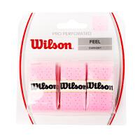 Wilson/威尔胜 网球手胶 吸汗带WRZ4005PK PRO OVERGRIP PERFORATED PINK 粉
