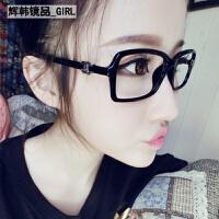 复古可配眼镜框 女款潮人装饰眼镜架小脸眼睛平光眼镜