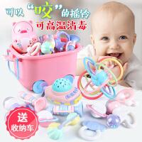 【支持礼品卡】婴儿玩具手摇铃牙胶益智0-3-6-12个月宝宝1岁新生幼儿5男女孩8 j4w