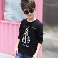 童装男童长袖T恤新款儿童春秋纯棉圆领打底衫中大童上衣