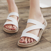 拖鞋女士沙滩鞋厚底防滑平底夏季凉拖鞋外穿