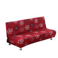 沙发床套简易折叠无扶手弹力沙发套罩布艺包通用床笠套子 北欧风情 适合190—230厘米沙发