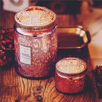 香薰蜡烛大小罐聪明盖止壁挂聚热均匀精致金属盖