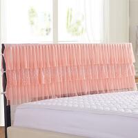 伊迪梦家纺 床头罩韩版蕾丝公主风床裙单品床罩 1.2/1.5/1.8/2m米单双人床SJ202
