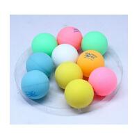 运动乒乓球彩色乒乓球 整桶36只 摸彩球 一般训练用球 娱乐 白色